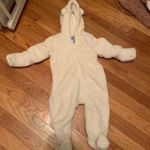 6-12M baby gap pram/snowsuit